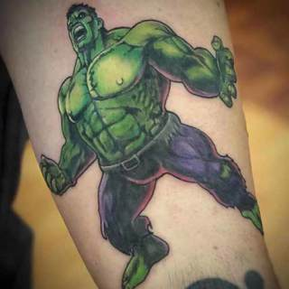 Tattoo: incredible hulk